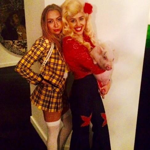 Miley Cyrus rindió su particular homenaje a Dolly Parton con este...