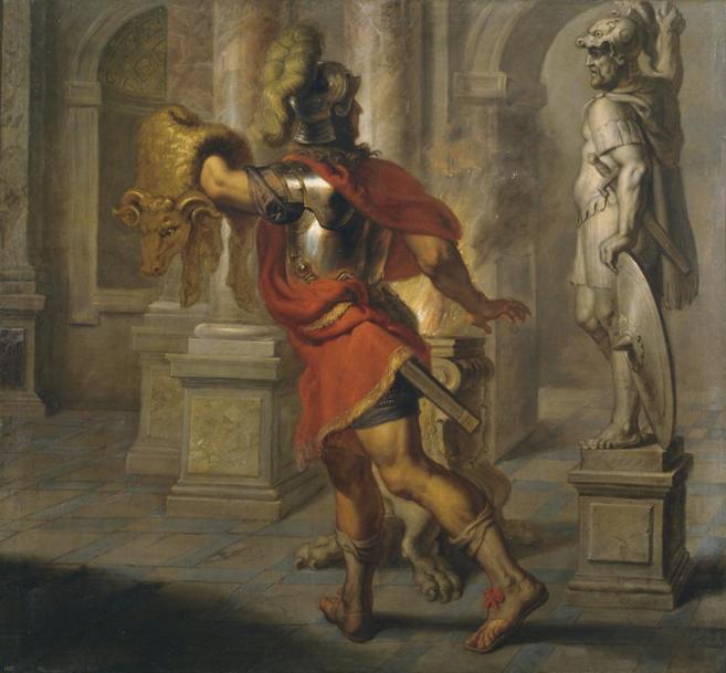 'Jason con el vellocino de oro' de Erasmus Quellinus, uno de...