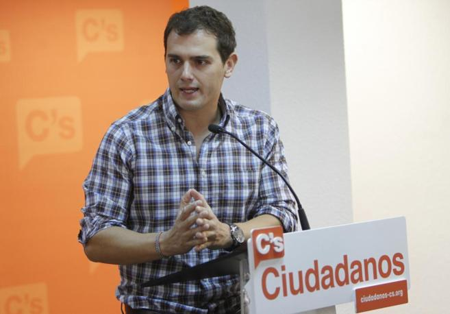El presidente de Ciutadans, Albert Rivera