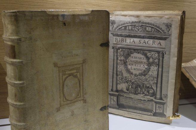 Ejemplares de la Biblioteca del Vaticano.