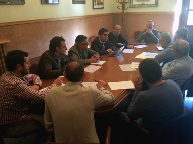 Reunión de la comisión de seguimiento de la legionela en Alcoy.