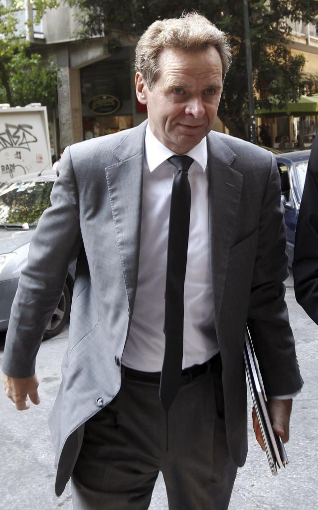 El inspector del FMI, ahora responsable para Europa, Poul Thomsen.