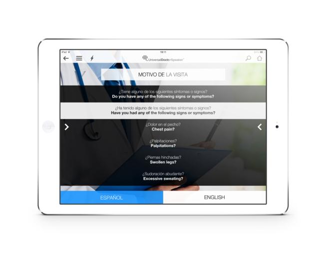'Screenshot' de una de las pantallas de la herramienta...