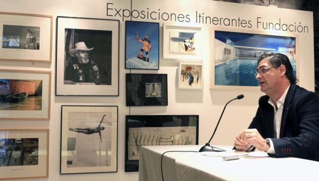 El comisario de la exposición Alejandro Zugaza.