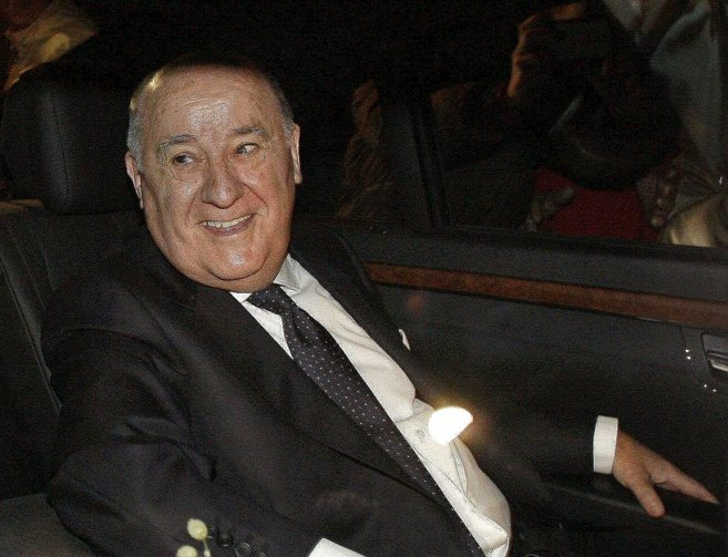 El hombre más rico de España, Amancio Ortega.