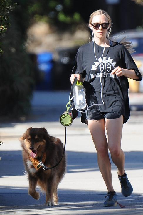 La actriz Amanda Seyfried, que no duda en compartir decenas de fotos...