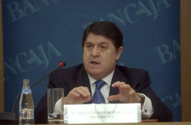 El ex presidente de Bancaja y de la Generalitat, José Luis Olivas, en...