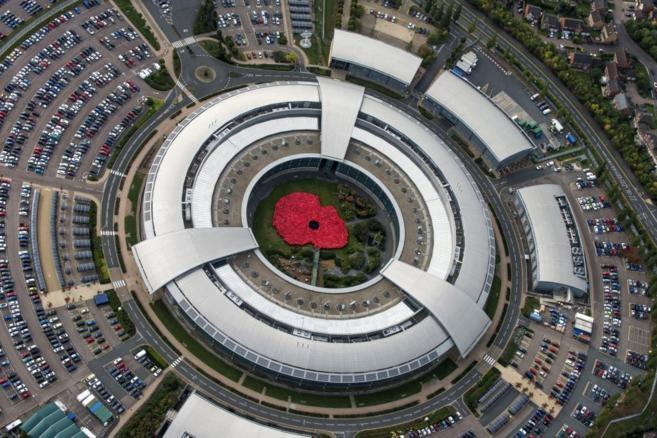 Imagen del Cuartel General de Comunicaciones del Gobierno Británico...