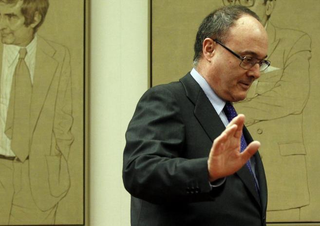 Luis Linde, gobernador del Banco de España.