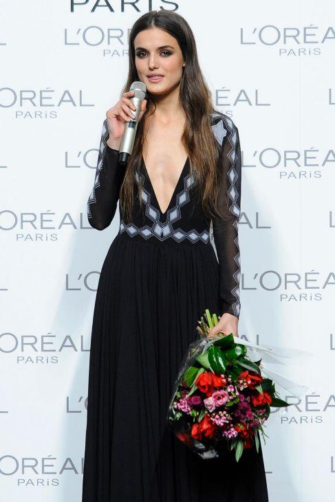 Su primer gran reconocimiento fue el Premio L'Oreal a la mejor modelo...