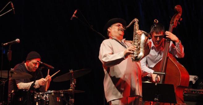 Concierto del saxofonista Joe Lovano durante la XXVII del festival de...