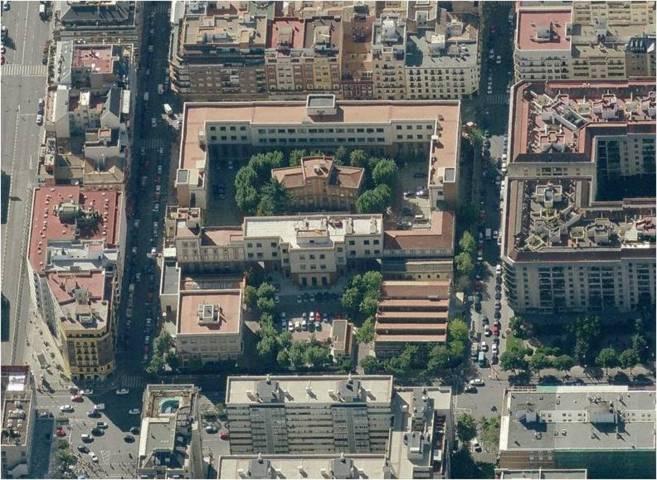 La antigua sede de Taller de Precisión y Centro Electrotécnico de...