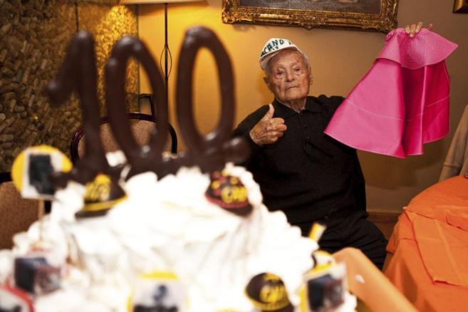 Cano, el día de su 100 cumpleaños