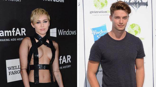 Miley Cyrus y Patrick Schwarzenegger.