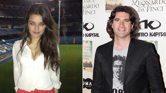 A la izquierda, la amiga del pequeño Nicolás, Isabel Mateos. A la...