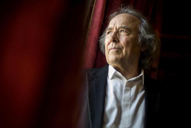Joan Manuel Serrat, durante la presentación de su nuevo disco.