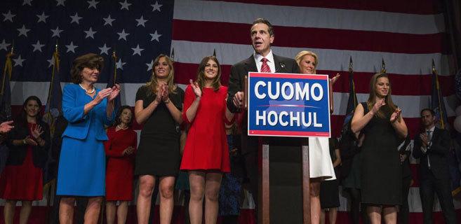 Andrew Cuomo ha renovado su mandato como gobernador en Nueva York