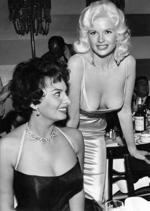 El Miedo De Sophia Loren A Los Pezones De Jayne Mansfield Loc