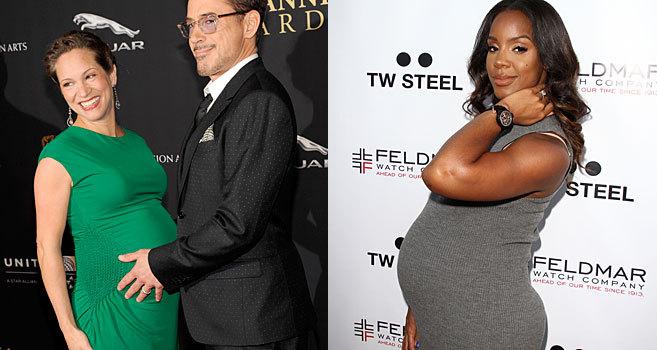 El actor, con su esposa Susan, y Rowland, en dos imágenes recientes.