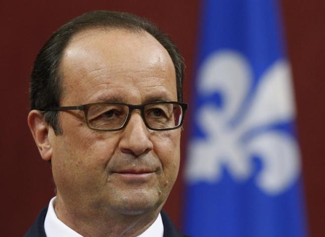 El presidente francés Francois Hollande.