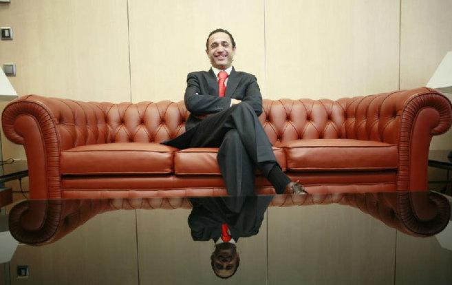 Merino, en su etapa como director financiero de la promotora Dico.