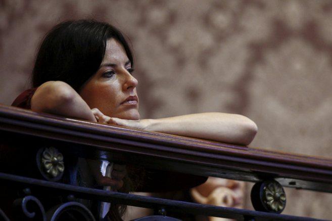 Cristina Seguí sigue el último pleno del Ayuntamiento de Valencia...