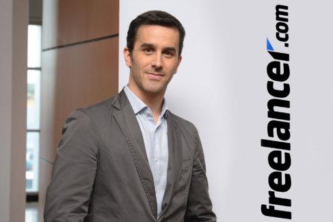 Sebastián Siseles, director general de la plataforma Freelancer.com...