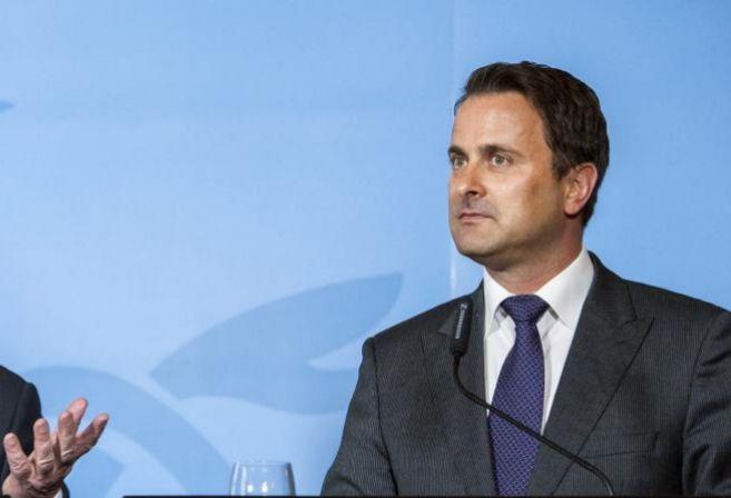 El primer ministro de Luxemburgo, Xavier Bettel.