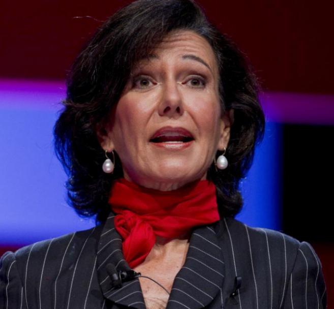 Ana Patricia Botín, en la Junta General del Banco Santander, el 15 de...