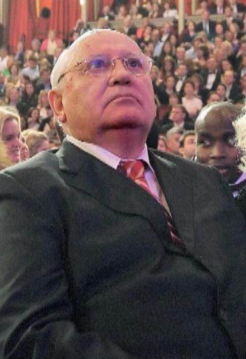 El ex líder de la URSS Mijail Gorbachov.