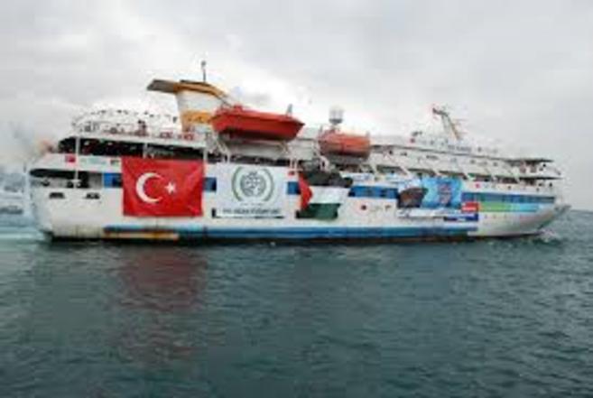 El buque Mavi Mármara.
