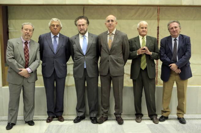 Gómez Marín, Francisco Herrero, Pérez Díaz, Francisco Rosell,...