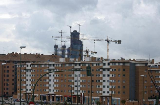 Edificios en construcción.