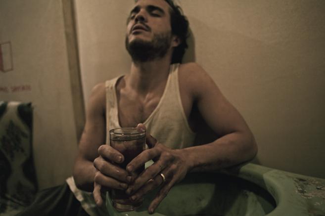 Bosco Gutiérrez, protagonista de 'Espacio interior', obra...
