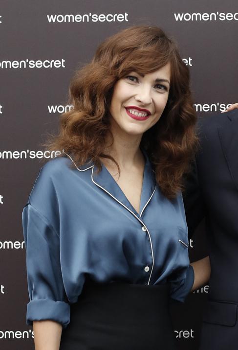 Paula Ortiz, en la presentación del primer 'Fashion Film'...