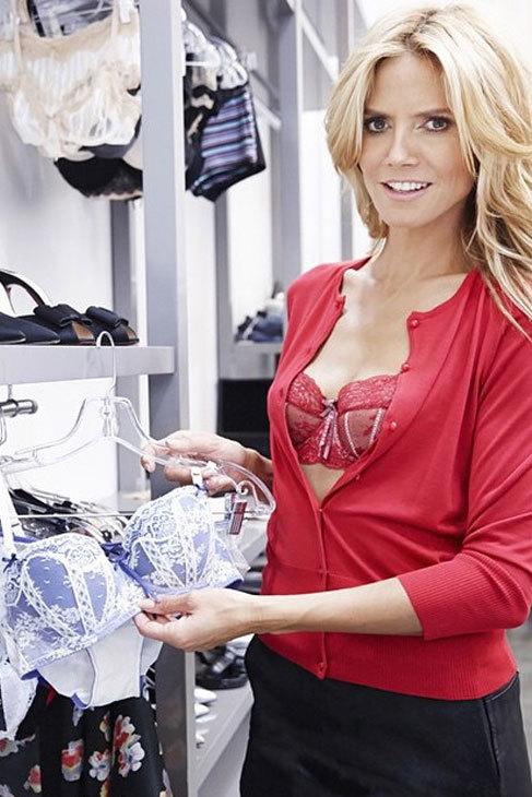 El de Heidi Klum es el último nombre famoso que se puede ver bordado...