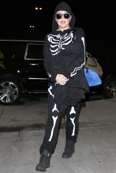 Puede que Halloween haya dicho adiós, pero algunas 'celebrities'...