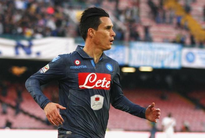Callejon está cuajando una gran temporada en la Serie A, donde es el...