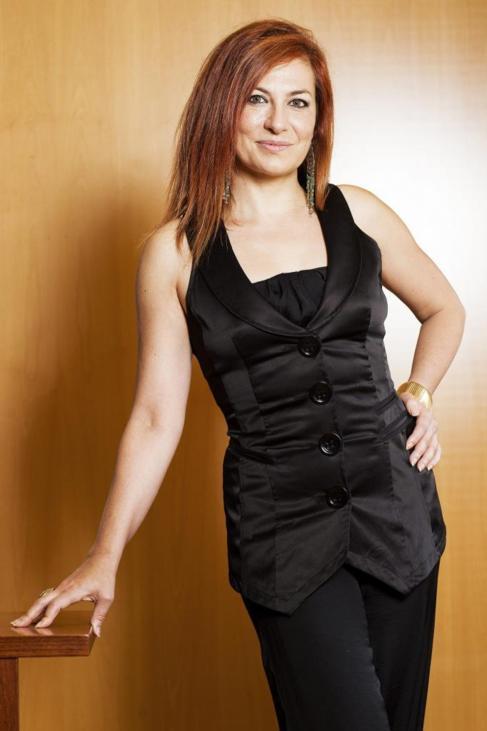 La soprano Pilar Jurado.