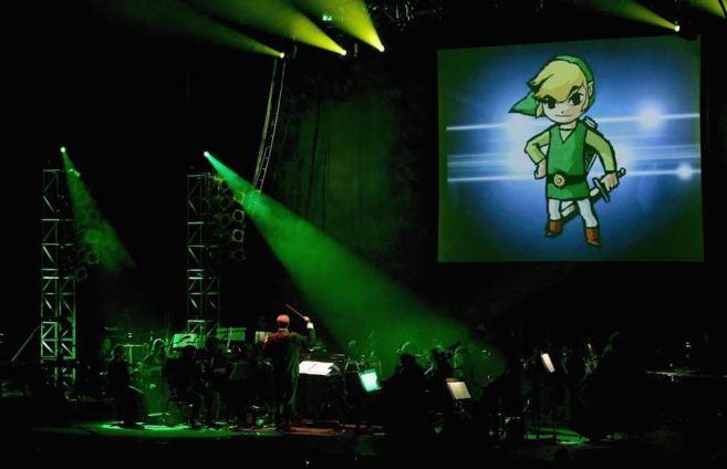 Imagen de los ensayos de Video Game Live.