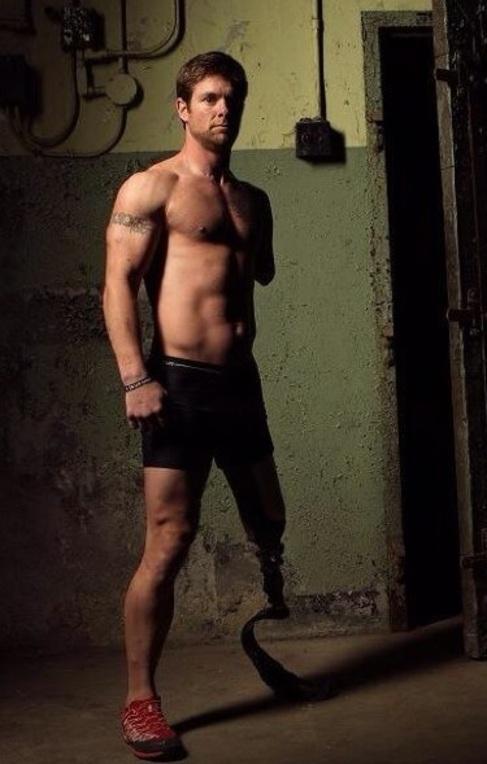 El modelo mutilado Noah Galloway
