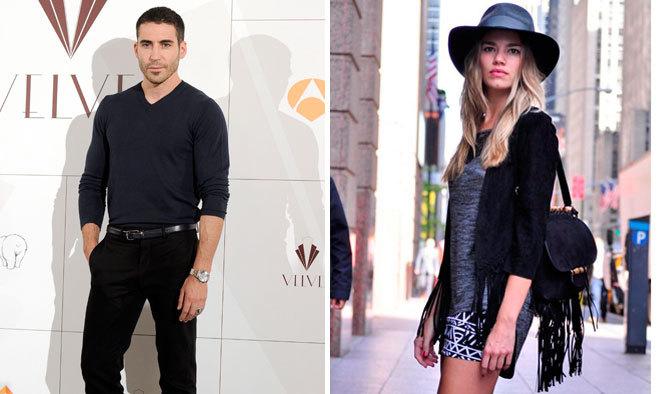 El actor Miguel Ángel Silvestre y la modelo Mirian Pérez