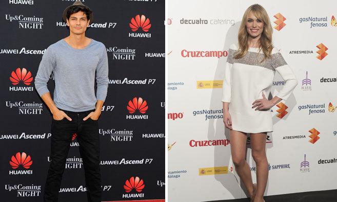 El top model Javier de Miguel y la presentadora Patricia Conde