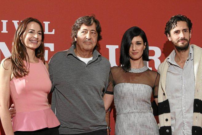 Cuca Escribano, Manuel Gómez Pereira, Paz Vega y Juan Diego Botto.