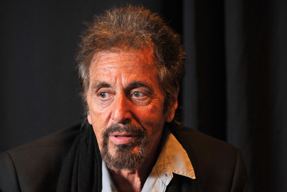 Al Pacino en su reciente aparición en el festival de cine para...