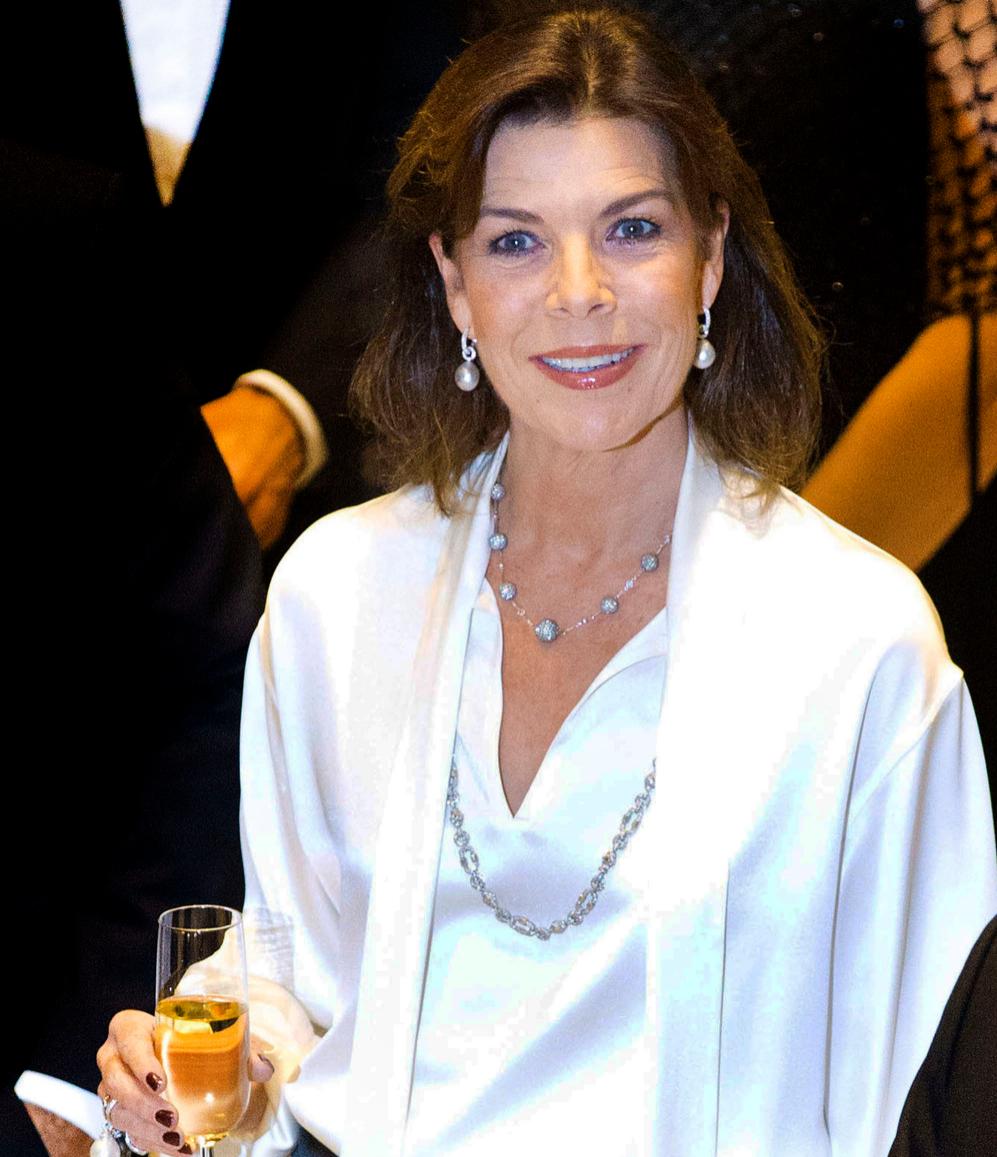 La princesa Carolina de Mónaco en la gala por los derechos infantiles...