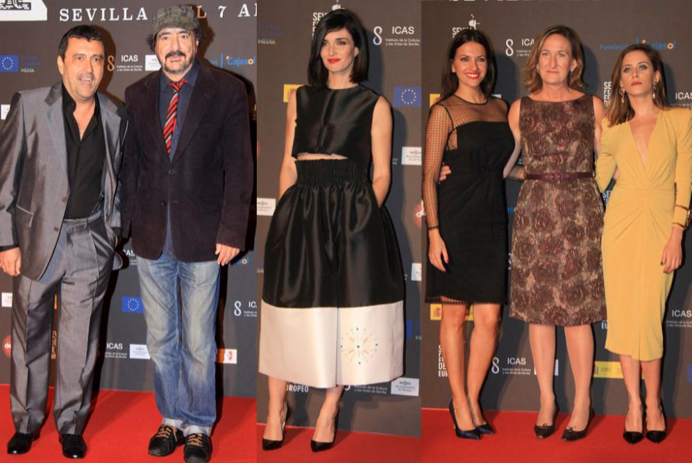 Estrellas de la pantalla naciional como Paco Tous, María León, Paz...