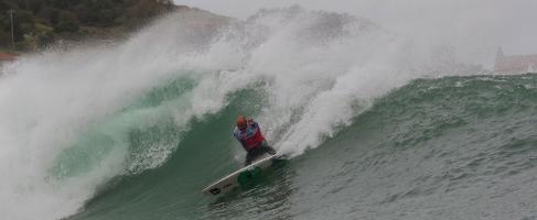 El surfista de Zrauz Indar Unanue.