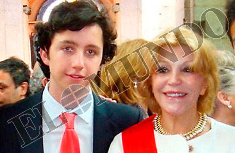 APUNTABA A LA NOBLEZA. Con la baronesa Thyssen...  Usaba el carné de...