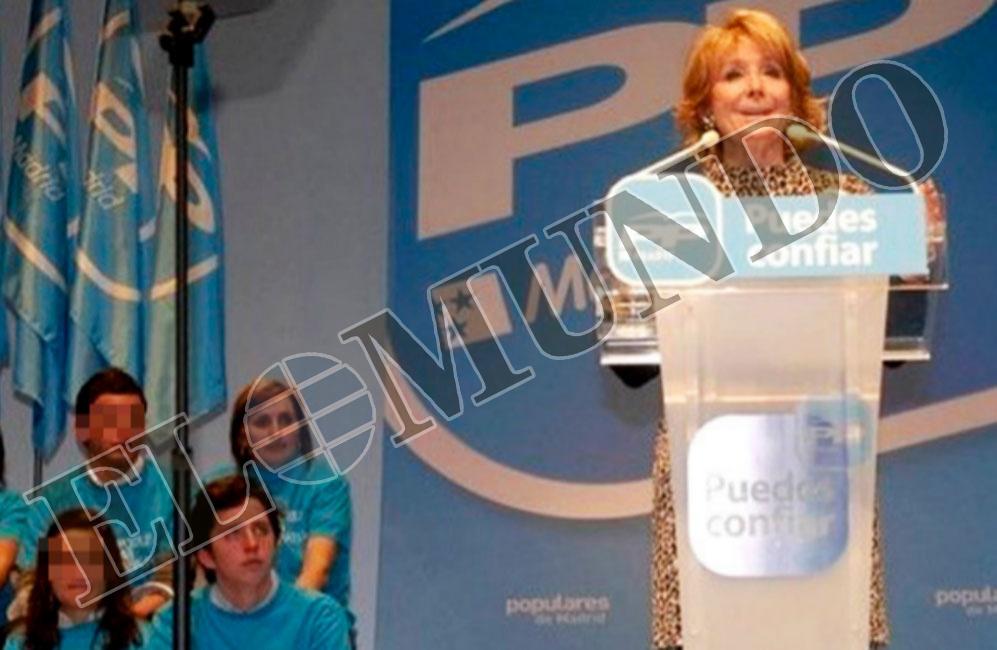 EL PODER DE MADRID Y DEL PAÍS. Presentación de candidatos del PP de...